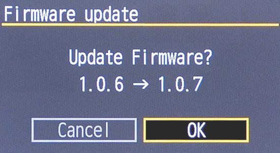 Update Firmware 1.0.7
